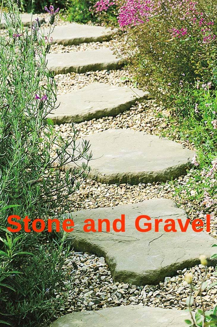 11 amazing rock pathway ideas to know in your garden - Using stone in rustic gardens elegance and drama ...